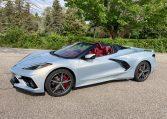 2021 Silver Red C8 Corvette Convertible 0940