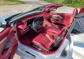 2021 Silver Red C8 Corvette Convertible 0943