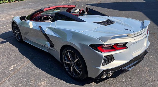 2021 silver red convertable coming 1