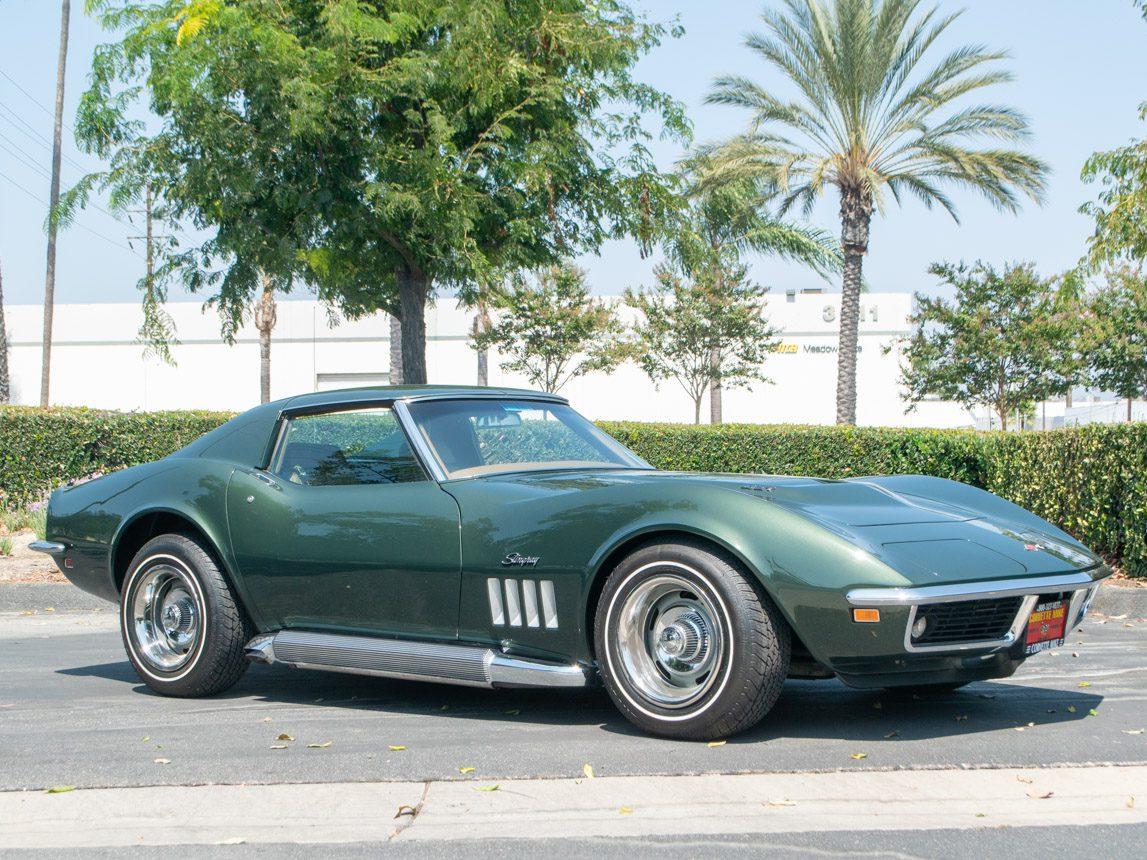 1969 Green Corvette L71 Coupe 0678