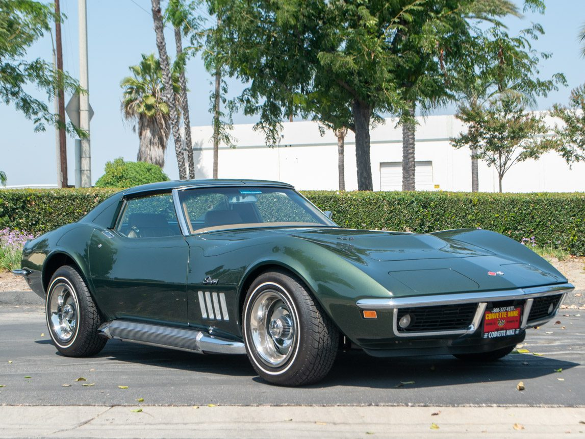 1969 Green Corvette L71 Coupe 0679