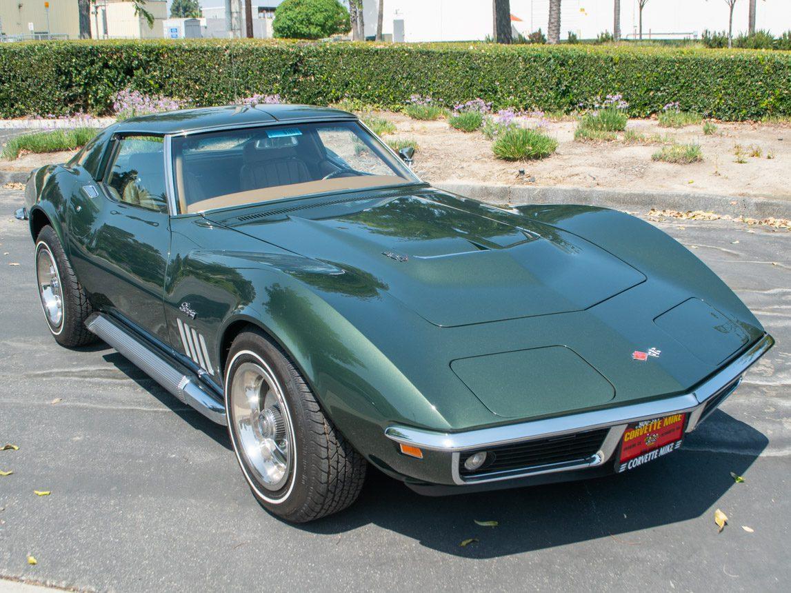 1969 Green Corvette L71 Coupe 0680