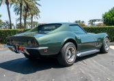1969 Green Corvette L71 Coupe 0682