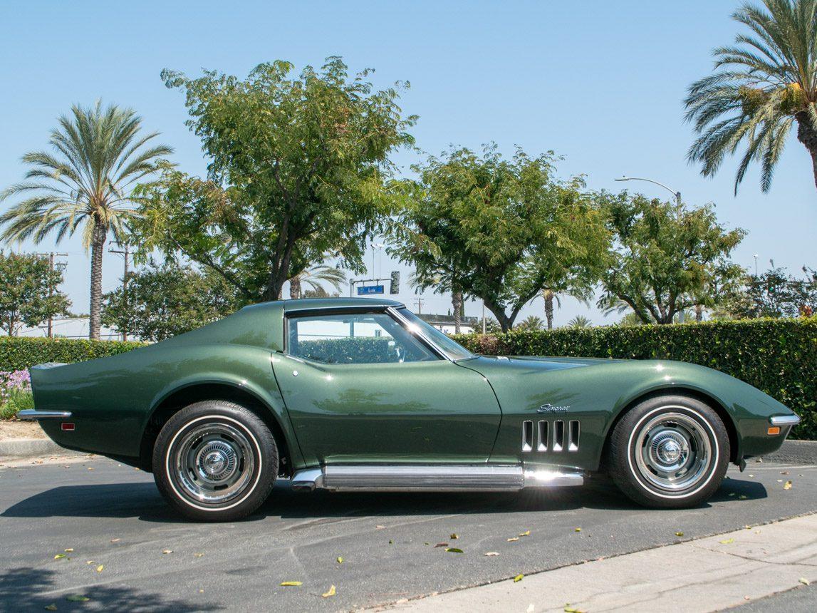 1969 Green Corvette L71 Coupe 0683