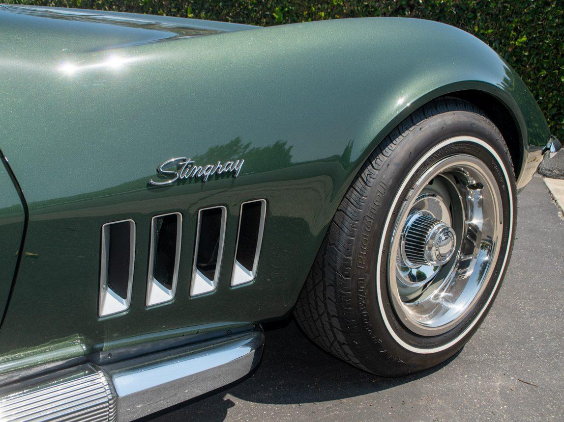 1969 Green Corvette L71 Coupe 0684