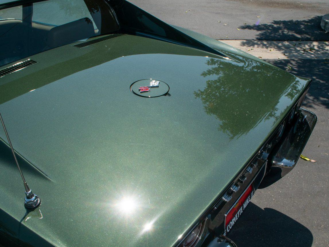 1969 Green Corvette L71 Coupe 0690
