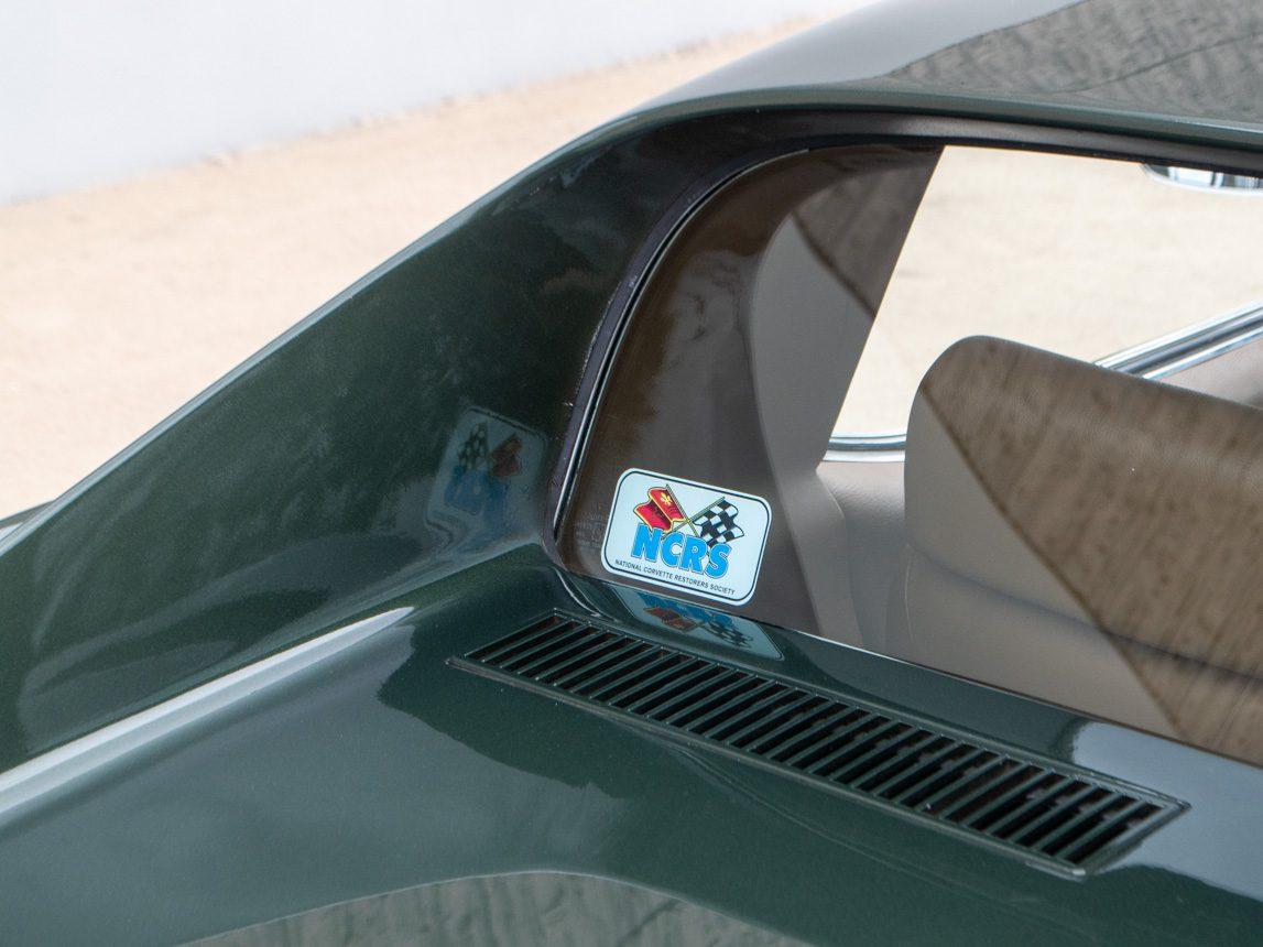 1969 Green Corvette L71 Coupe 20 of 40