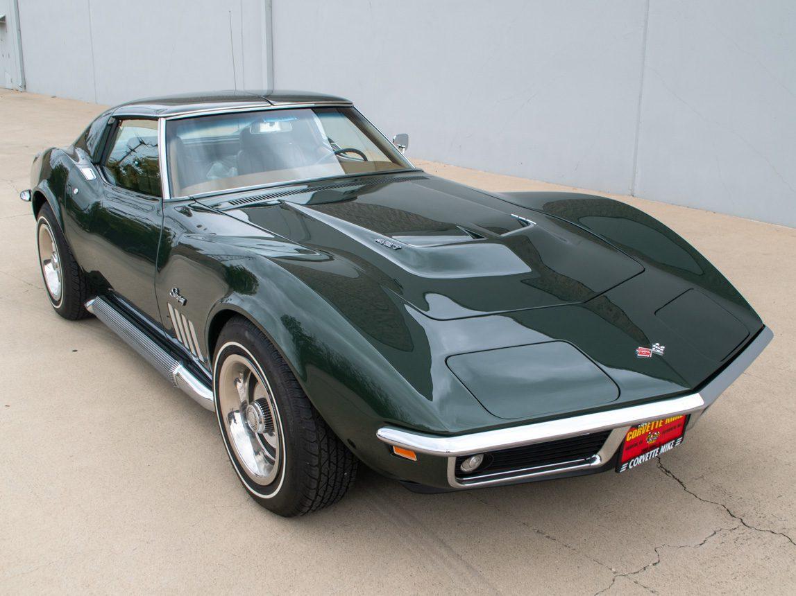 1969 Green Corvette L71 Coupe 3 of 40
