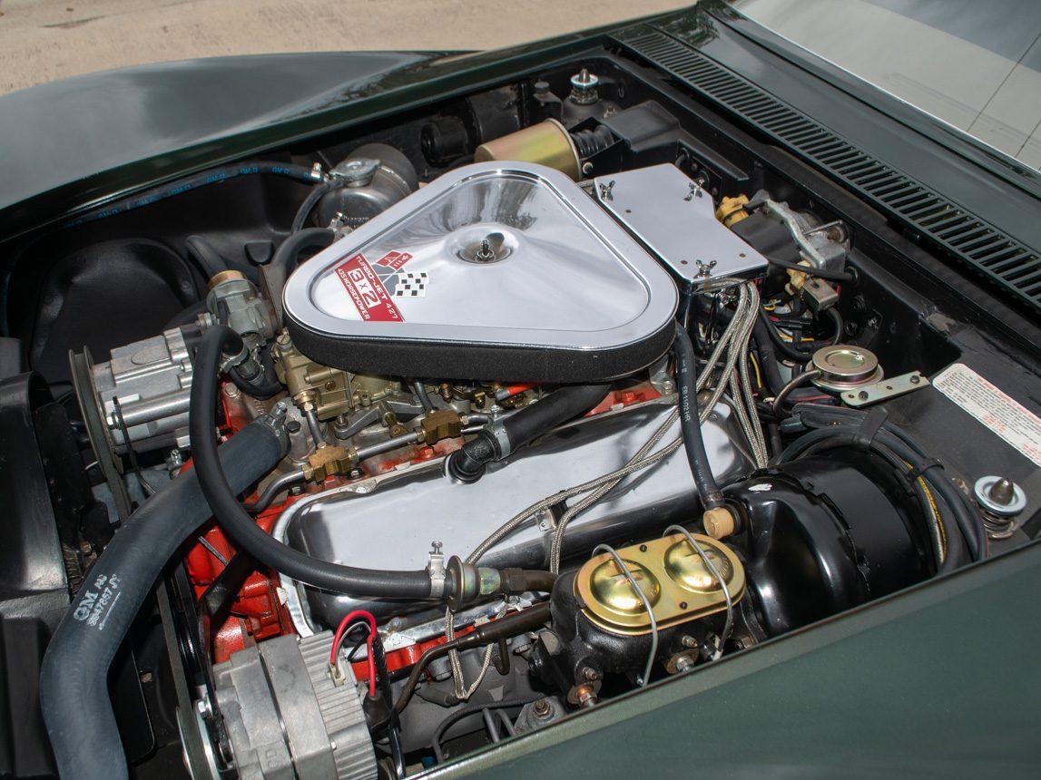 1969 Green Corvette L71 Coupe 37 of 40