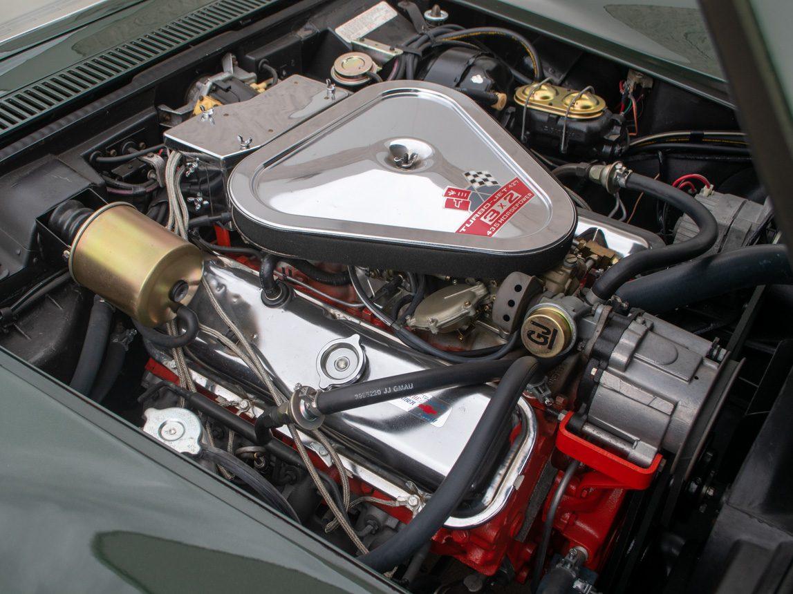 1969 Green Corvette L71 Coupe 38 of 40