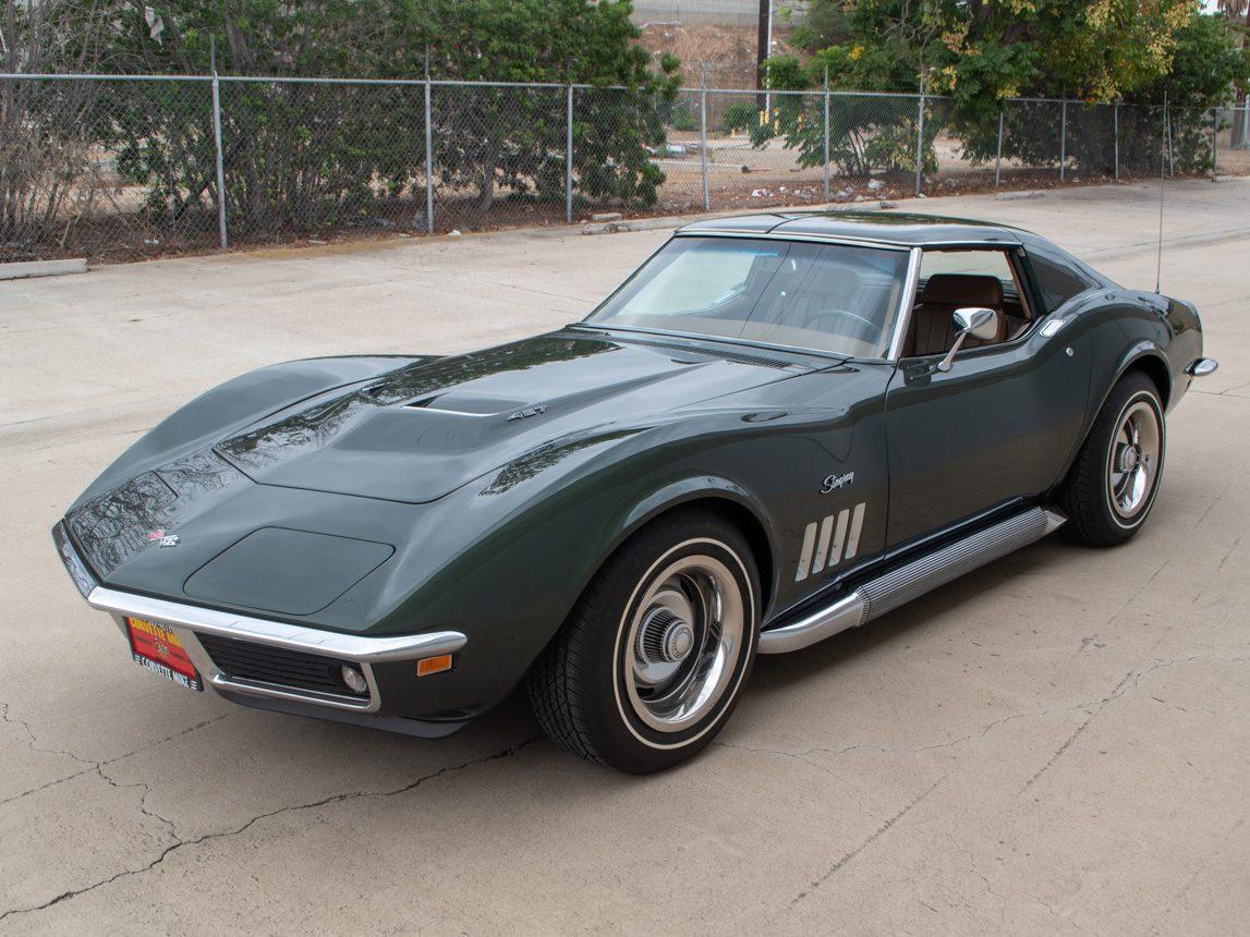 1969 Green Corvette L71 Coupe 5 of 40