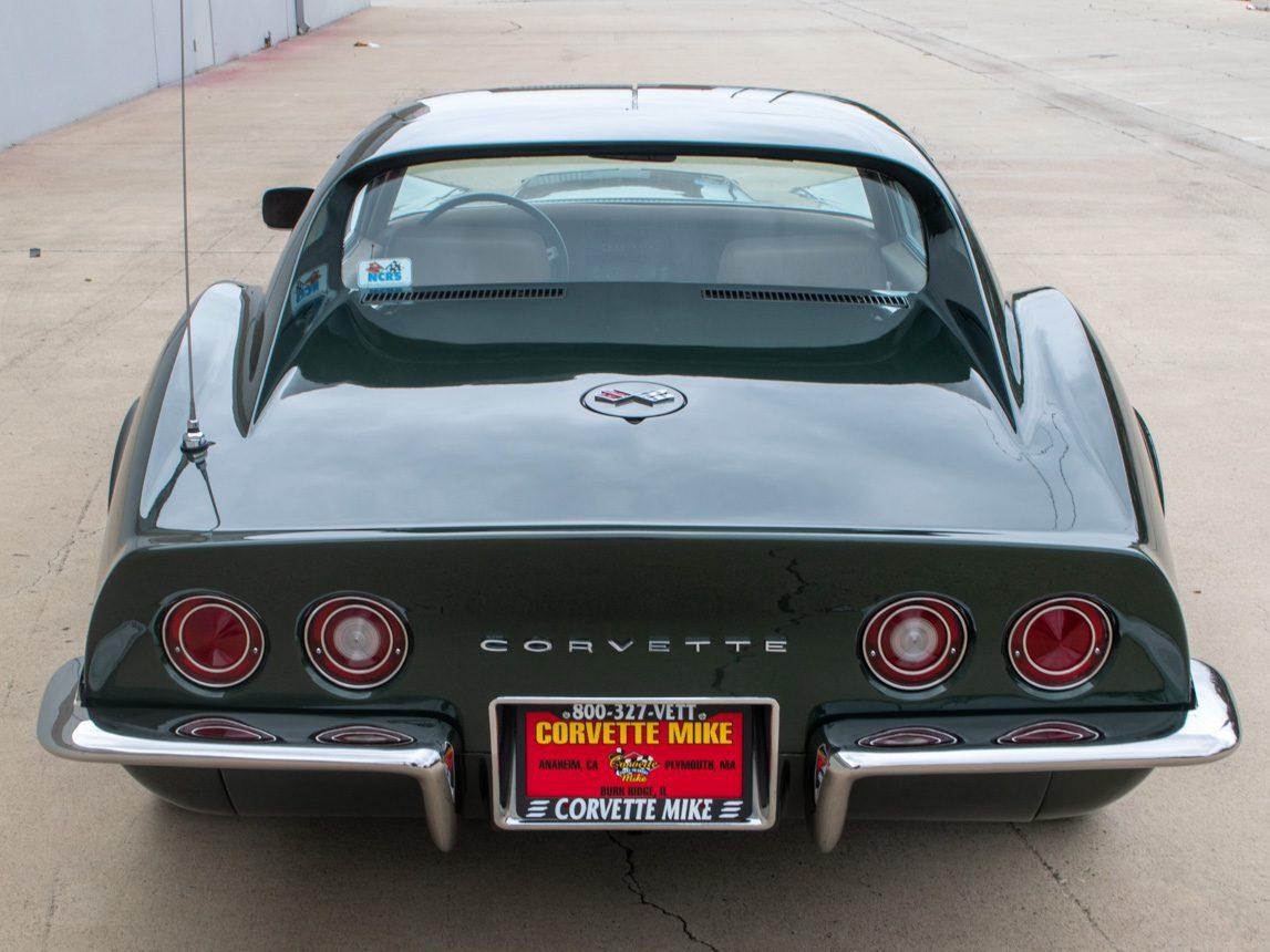 1969 Green Corvette L71 Coupe 8 of 40